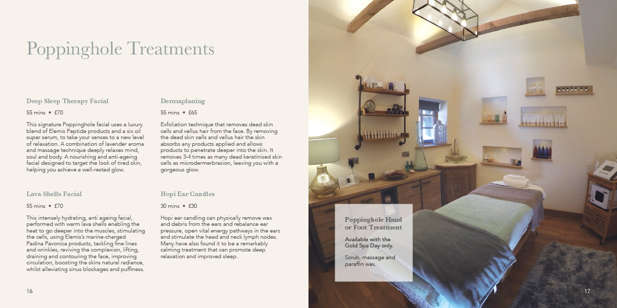 Treatments | Spa